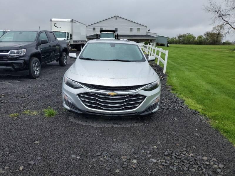 2021 Chevrolet Malibu for sale at K & G Auto Sales Inc in Delta OH