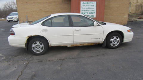 2003 Pontiac Grand Prix for sale at LENTZ USED VEHICLES INC in Waldo WI