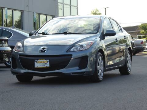 2013 Mazda MAZDA3 for sale at Loudoun Motor Cars in Chantilly VA