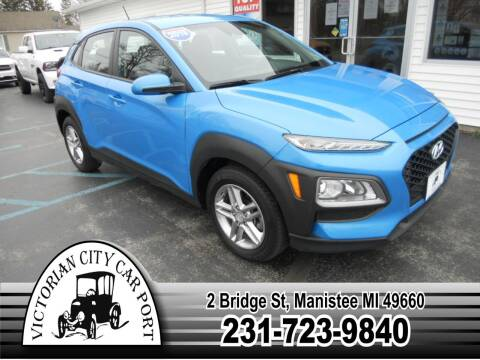 2019 Hyundai Kona for sale at Victorian City Car Port INC in Manistee MI