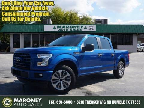 2017 Ford F-150 for sale at Maroney Auto Sales in Humble TX