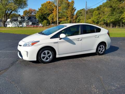 2012 Toyota Prius for sale at Depue Auto Sales Inc in Paw Paw MI