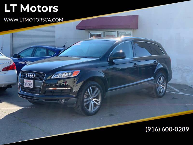 2007 Audi Q7 for sale at LT Motors in Rancho Cordova CA