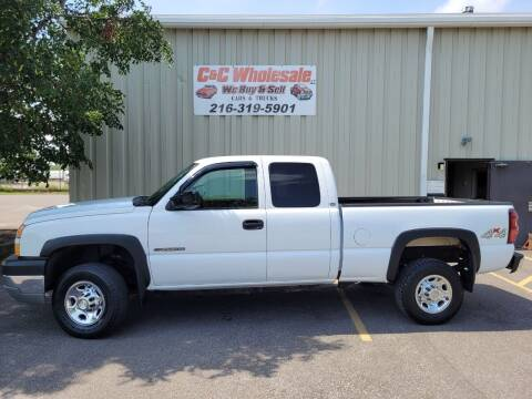 2005 Chevrolet Silverado 2500HD for sale at C & C Wholesale in Cleveland OH