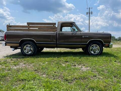 1989 Dodge Ram for sale at Classic Car Deals in Cadillac MI