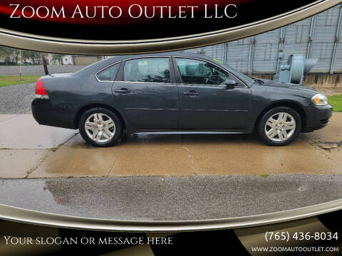 2013 Chevrolet Impala for sale at Zoom Auto Outlet LLC in Thorntown IN