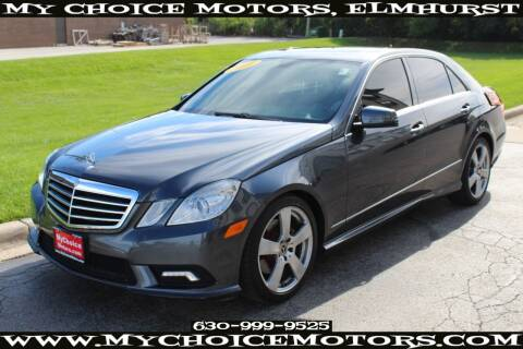 2011 Mercedes-Benz E-Class for sale at Your Choice Autos - My Choice Motors in Elmhurst IL