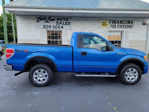 2010 Ford F-150 for sale at STATE LINE AUTO SALES in New Church VA