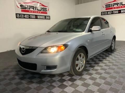 2008 Mazda MAZDA3 for sale at SIRIUS MOTORS INC in Monroe OH