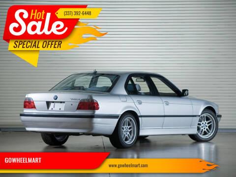 1998 BMW 7 Series for sale at GOWHEELMART in Leesville LA