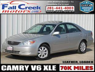 2002 Toyota Camry for sale at Fall Creek Motor Cars in Humble TX