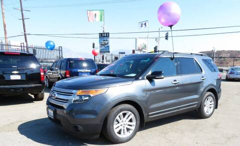 2015 Ford Explorer for sale at Luxor Motors Inc in Pacoima CA