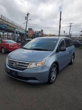 2012 Honda Odyssey for sale at Key and V Auto Sales in Philadelphia PA