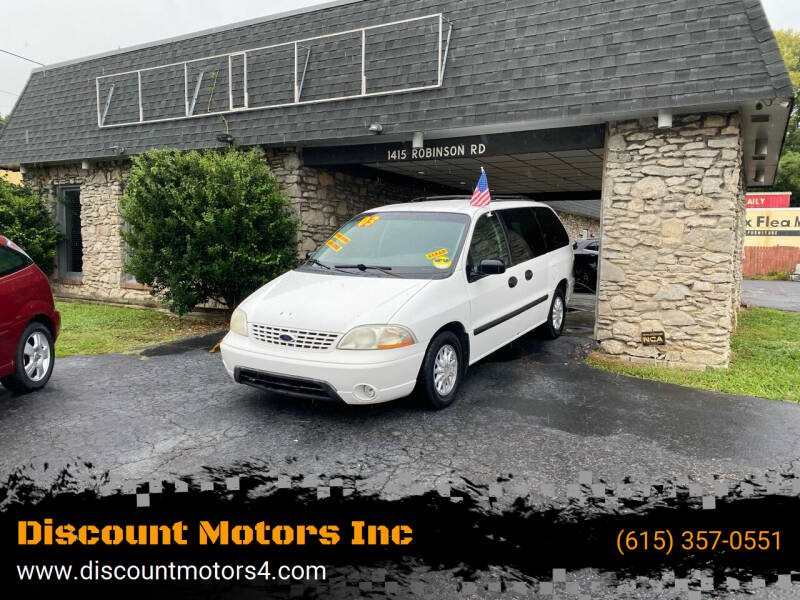 2003 Ford Windstar for sale at Discount Motors Inc in Old Hickory TN