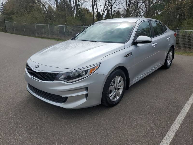 2017 Kia Optima for sale at Ace Auto in Jordan MN