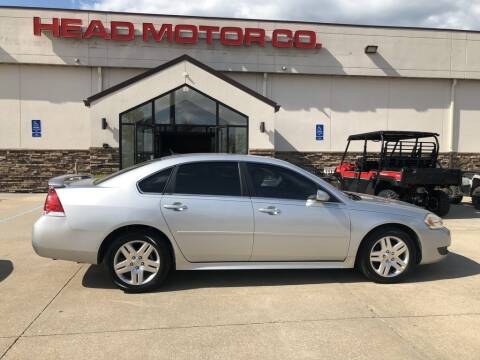 2011 Chevrolet Impala for sale at Head Motor Company - Head Indian Motorcycle in Columbia MO
