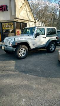 2008 Jeep Wrangler for sale at BORGES AUTO CENTER, INC. in Taunton MA