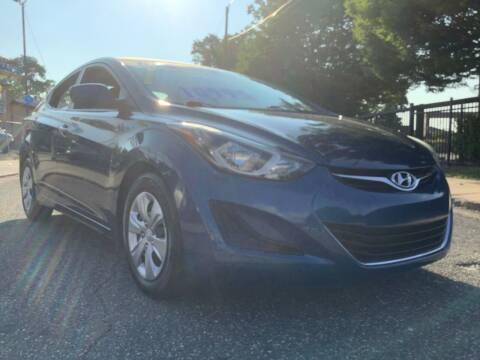 2016 Hyundai Elantra for sale at Active Auto Sales Inc in Philadelphia PA