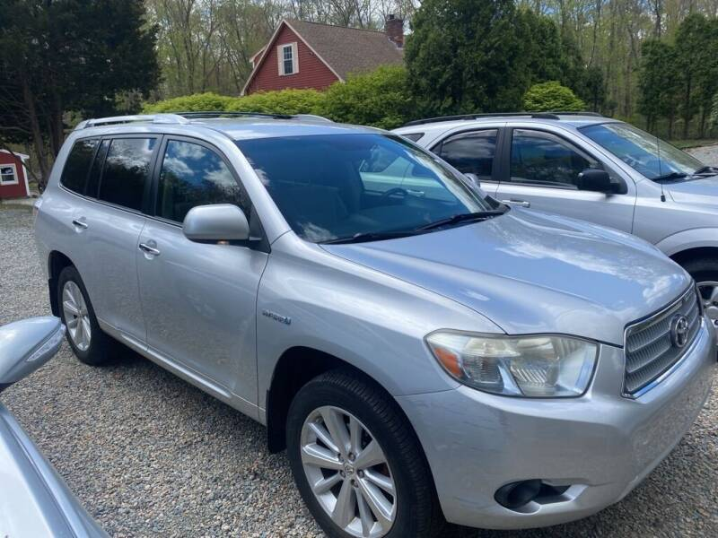 2008 Toyota Highlander Hybrid for sale at Anawan Auto in Rehoboth MA