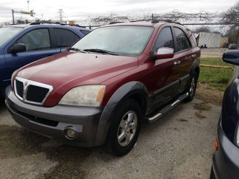 2005 Kia Sorento for sale at Nile Auto in Fort Worth TX