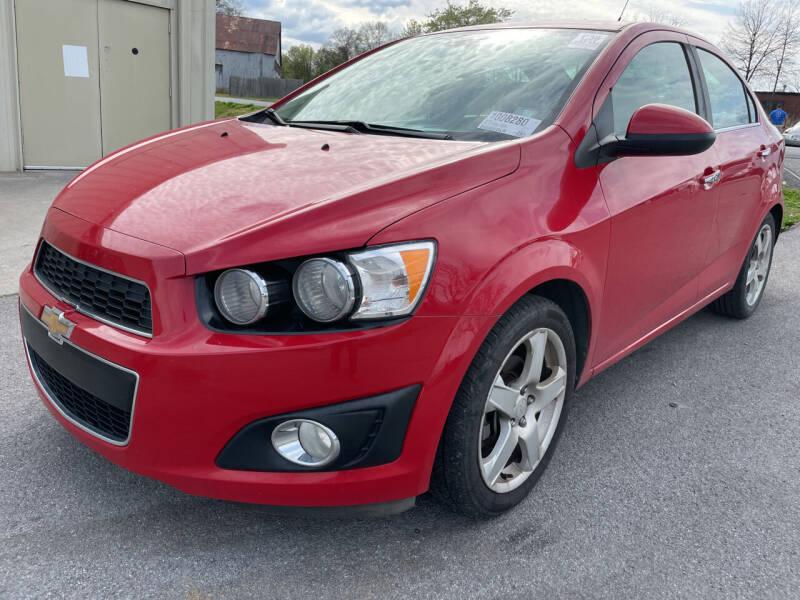 2013 Chevrolet Sonic for sale at Diana Rico LLC in Dalton GA