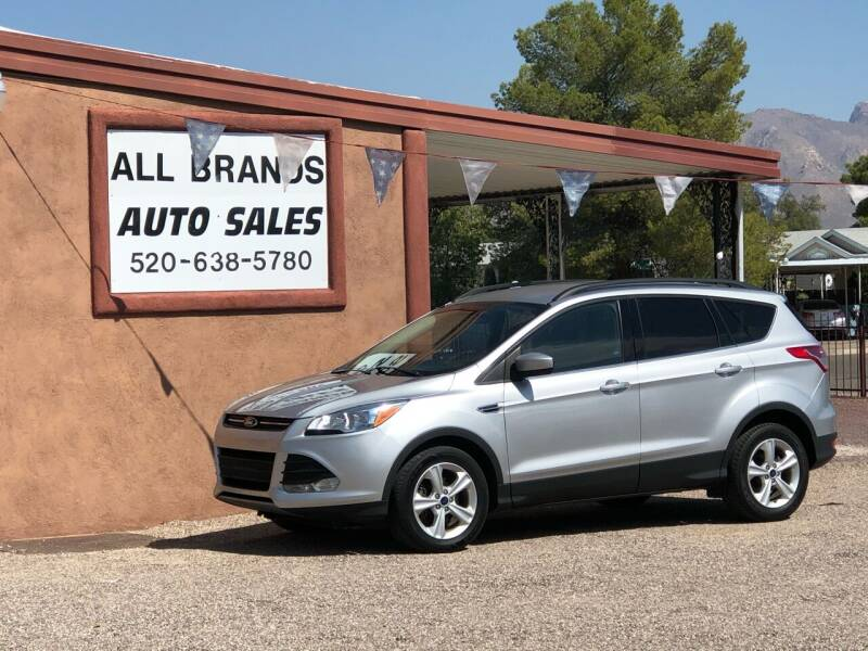 2016 Ford Escape for sale at All Brands Auto Sales in Tucson AZ