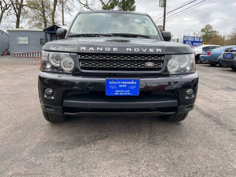 2013 Land Rover Range Rover Sport for sale at QUALITY PREOWNED AUTO in Houston TX