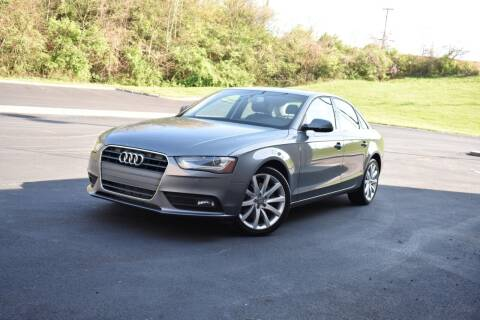 2013 Audi A4 for sale at Alpha Motors in Knoxville TN