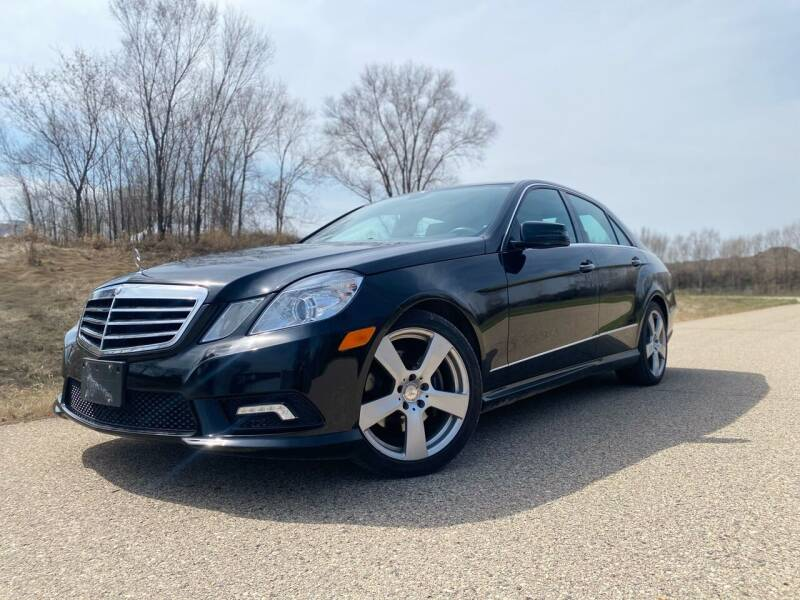 2011 Mercedes-Benz E-Class for sale at RUS Auto LLC in Shakopee MN