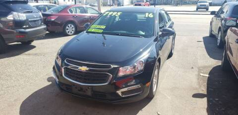 2016 Chevrolet Cruze Limited for sale at TC Auto Repair and Sales Inc in Abington MA