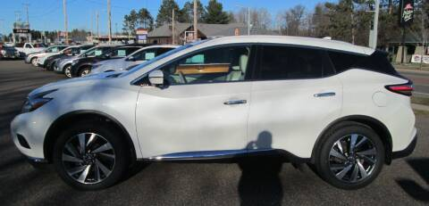 2018 Nissan Murano for sale at AUTOHAUS in Tomahawk WI