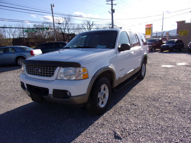 2002 Ford Explorer for sale at RAY'S AUTO SALES INC in Jacksboro TN