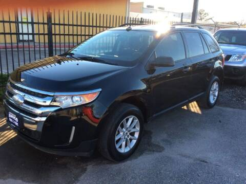 2013 Ford Edge for sale at AMIGO USED CARS in Houston TX