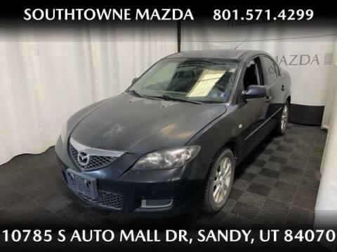2007 Mazda MAZDA3 for sale at Southtowne Mazda of Sandy in Sandy UT