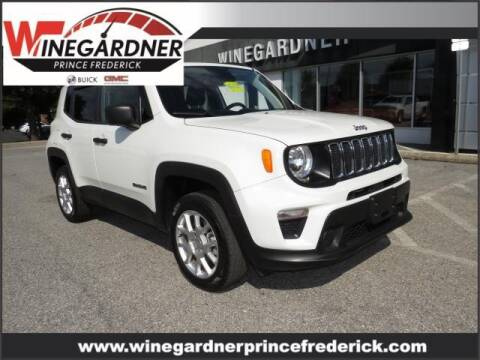 2019 Jeep Renegade for sale at Winegardner Auto Sales in Prince Frederick MD