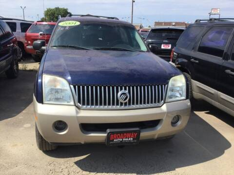 2004 Mercury Mountaineer for sale at Broadway Auto Sales in South Sioux City NE