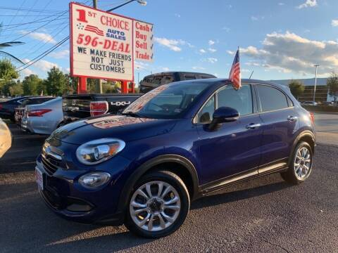 2016 FIAT 500X for sale at 1st Choice Auto Sales in Newport News VA
