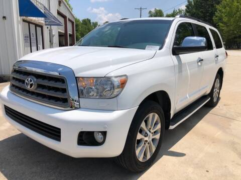 2014 Toyota Sequoia for sale at Arkansas Car Pros in Cabot AR