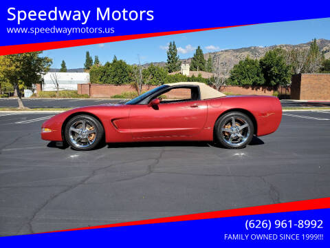 1998 Chevrolet Corvette for sale at Speedway Motors in Glendora CA