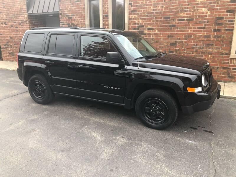 2016 Jeep Patriot for sale at Riverview Auto Brokers in Des Plaines IL