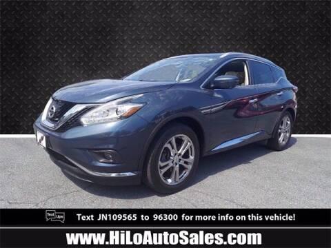 2018 Nissan Murano for sale at Hi-Lo Auto Sales in Frederick MD