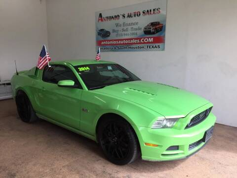 2014 Ford Mustang for sale at Antonio's Auto Sales - Antonio`s  2206 in Pasadena TX