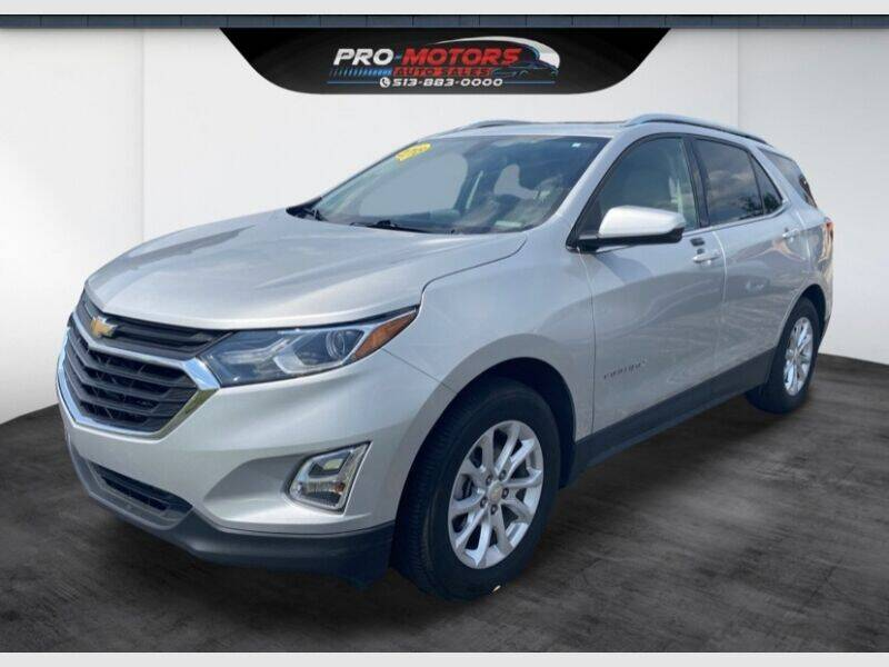 2018 Chevrolet Equinox for sale at Pro Motors in Fairfield OH