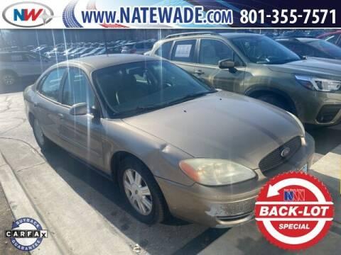 2007 Ford Taurus for sale at NATE WADE SUBARU in Salt Lake City UT