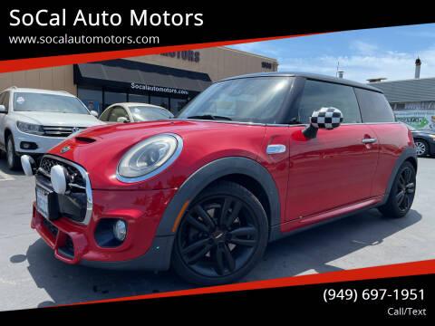 2015 MINI Hardtop 2 Door for sale at SoCal Auto Motors in Costa Mesa CA