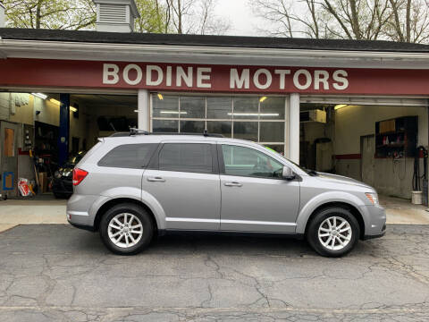 2016 Dodge Journey for sale at BODINE MOTORS in Waverly NY