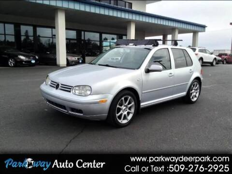 2001 Volkswagen Golf for sale at PARKWAY AUTO CENTER AND RV in Deer Park WA