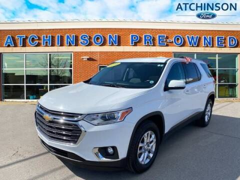 2018 Chevrolet Traverse for sale at Atchinson Ford Sales Inc in Belleville MI