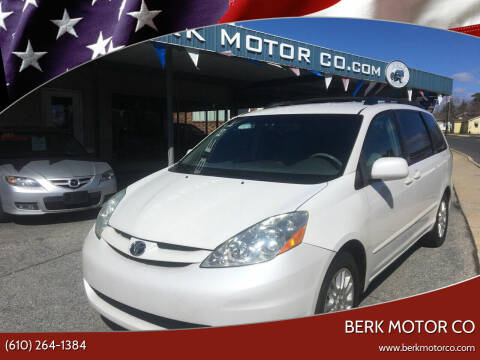 2008 Toyota Sienna for sale at Berk Motor Co in Whitehall PA
