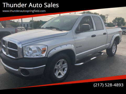 2008 Dodge Ram Pickup 1500 for sale at Thunder Auto Sales in Springfield IL